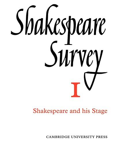 Shakespeare Survey (Volume 1)