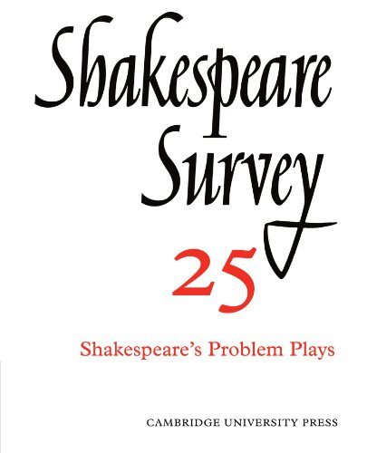 Shakespeare Survey (Volume 25): KENNETH MUIR