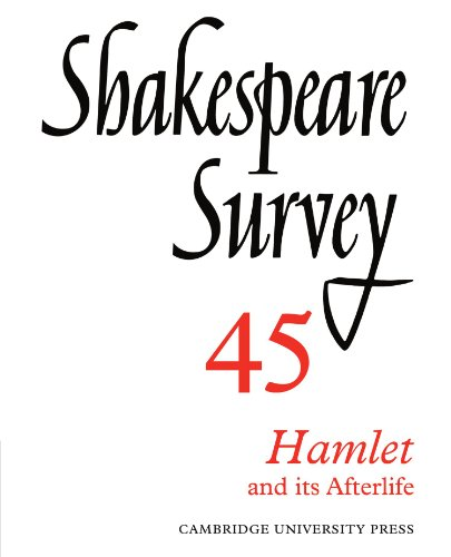 9780521523844: Shakespeare Survey Paperback Set: Shakespeare Survey 45: Hamlet and its Afterlife: Volume 45