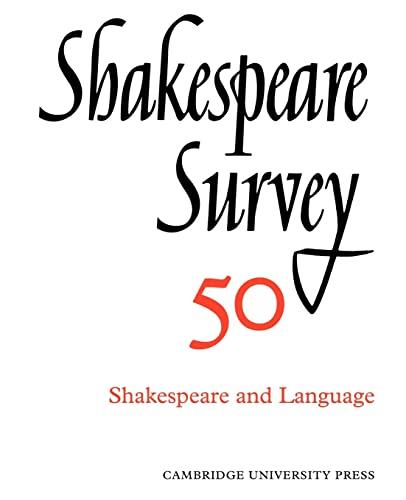 9780521523905: Shakespeare Survey