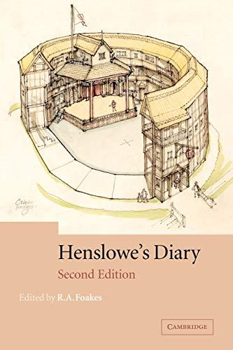 9780521524025: Henslowe's Diary