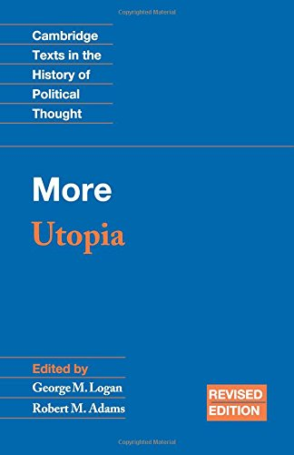 9780521525404: More: Utopia (Cambridge Texts in the History of Political Thought)