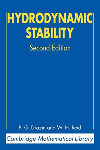 9780521525411: Hydrodynamic Stability (Cambridge Mathematical Library)
