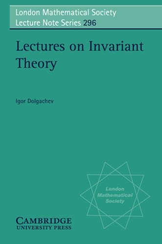 9780521525480: Lectures on Invariant Theory (London Mathematical Society Lecture Note Series)