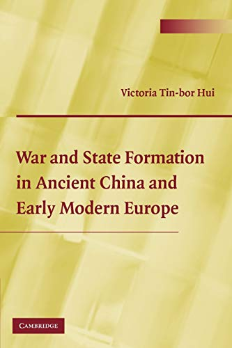 9780521525763: War and State Formation in Ancient China and Early Modern Europe