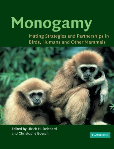 9780521525770: Monogamy: Mating Strategies and Partnerships in Birds, Humans and Other Mammals