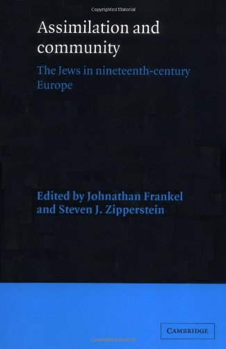 9780521526012: Assimilation and Community: The Jews in Nineteenth-Century Europe