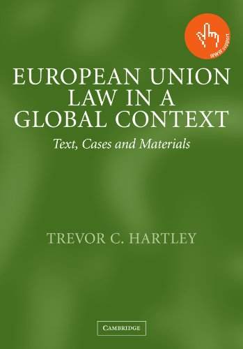 9780521527309: European Union Law in a Global Context: Text, Cases and Materials