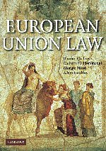 9780521527415: European Union Law: Text and Materials