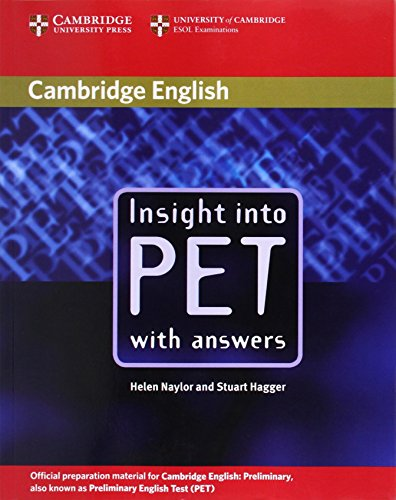 9780521527545: Insight into Pet. Per le Scuole superiori
