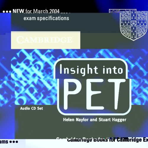9780521527576: Insight into PET Audio CDs (2) (Cambridge Books for Cambridge Exams)