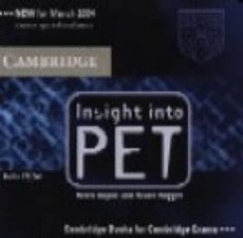 9780521527576: Insight into PET Audio CDs (2) (Cambridge Books for Cambridge Exams)