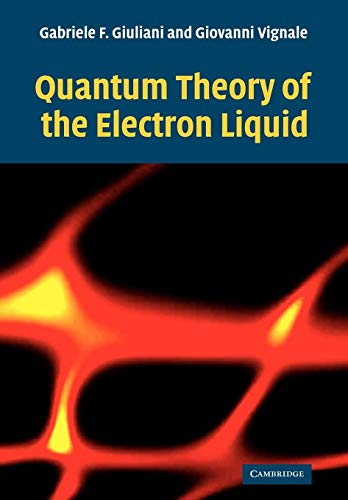 9780521527965: Quantum Theory of the Electron Liquid