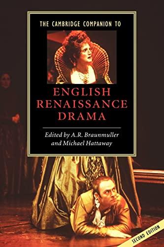 9780521527996: The Cambridge Companion to English Renaissance Drama (Cambridge Companions to Literature)
