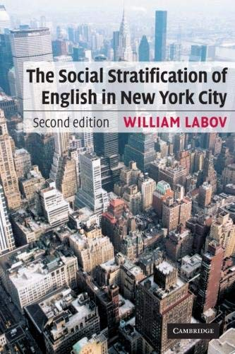 9780521528054: The Social Stratification of English in New York City