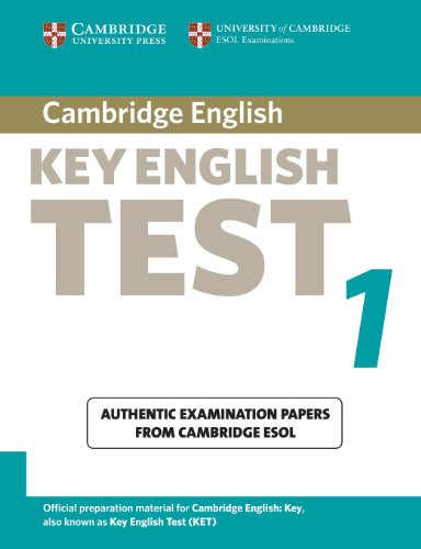 9780521528078: Cambridge Key English Test 1 Student's Book: Examination Papers from the University of Cambridge ESOL Examinations (KET Practice Tests)