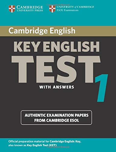 9780521528085: Cambridge Key English Test 1 Student's Book with Answers: Examination Papers from the University of Cambridge ESOL Examinations (KET Practice Tests)