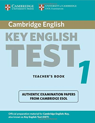 9780521528092: Cambridge Key English Test 2nd 1 Teacher's Book: Examination Papers from the University of Cambridge ESOL Examinations (KET Practice Tests)