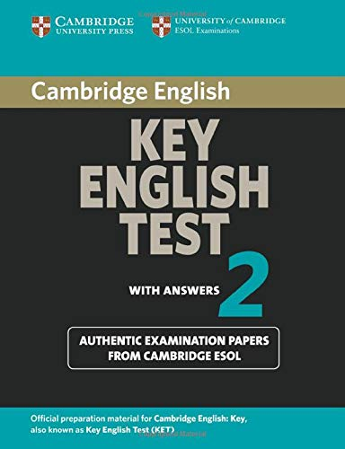 9780521528139: Cambridge Key English Test 2 Student's Book with Answers: Examination Papers from the University of Cambridge ESOL Examinations (KET Practice Tests)