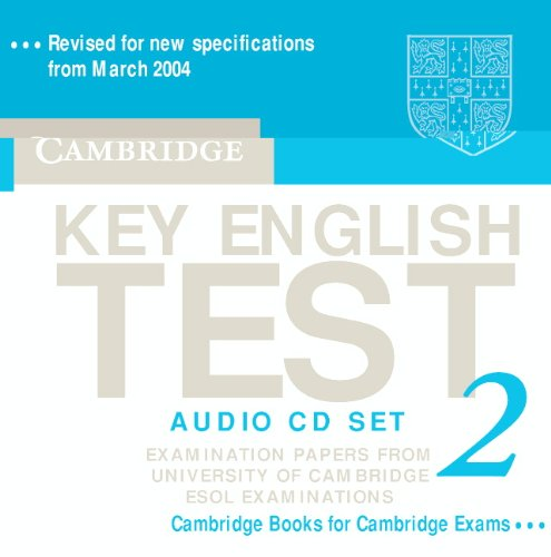 9780521528160: Cambridge Key English Test 2 Audio CD Set (2 CDs): Examination Papers from the University of Cambridge ESOL Examinations