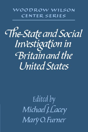 9780521528535: The State and Social Investigation in Britain and the United States (Woodrow Wilson Center)