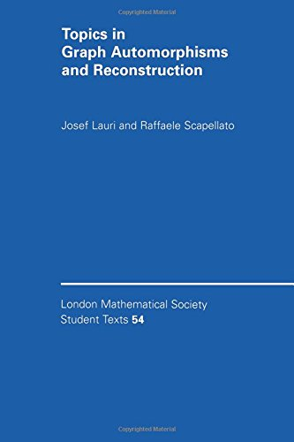 9780521529037: Topics in Graph Automorphisms and Reconstruction (London Mathematical Society Student Texts)