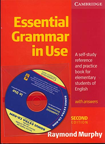 9780521529327: Essential Grammar in Use With Answers and CD-ROM: A Self-Study Reference and Practice Book for Elementary Students of English