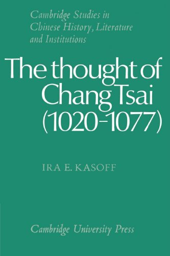 9780521529471: The Thought of Chang Tsai (1020-1077) (Cambridge Studies in Chinese History, Literature and Institutions)