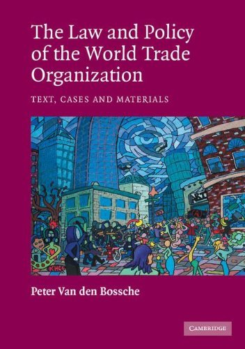 9780521529815: The Law and Policy of the World Trade Organization: Text, Cases and Materials
