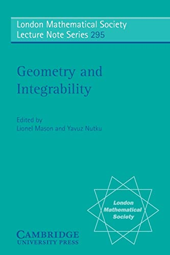 9780521529990: Geometry and Integrability (London Mathematical Society Lecture Note Series)