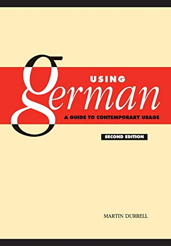 9780521530002: Using German: A Guide to Contemporary Usage