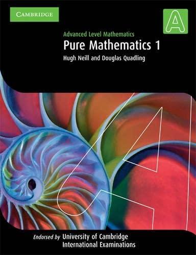 9780521530118: Pure Mathematics 1 (International)