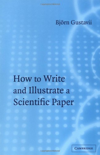 9780521530248: How to Write and Illustrate a Scientific Paper