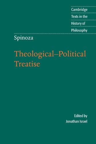 9780521530972: Spinoza: Theological-Political Treatise (Cambridge Texts in the History of Philosophy)
