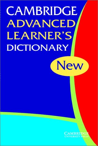 9780521531054: Cambridge advanced learner's dictionary