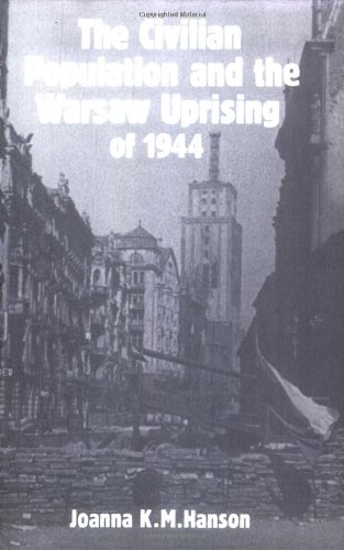 9780521531191: The Civilian Population and the Warsaw Uprising of 1944