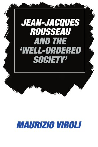 9780521531382: Jean-Jacques Rousseau and the 'Well-Ordered Society'