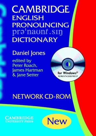 9780521531597: English Pronouncing Dictionary Network CD-ROM
