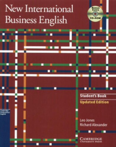 9780521531733: New International Business English Updated Edition Student's Book with Bonus Extra BEC Vantage Preparation CD-ROM: Communication Skills in English for Business Purposes