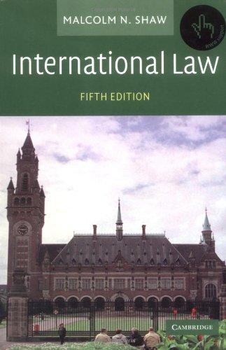 9780521531832: International Law