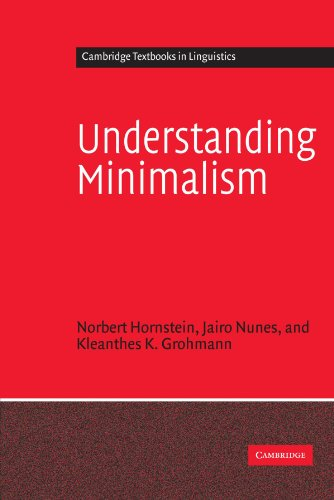 9780521531948: Understanding Minimalism Paperback (Cambridge Textbooks in Linguistics)