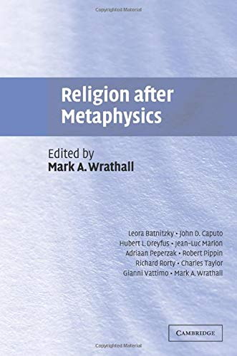 9780521531962: Religion after Metaphysics