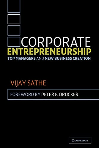 9780521531979: Corporate Entrepreneurship: Top Managers and New Business Creation