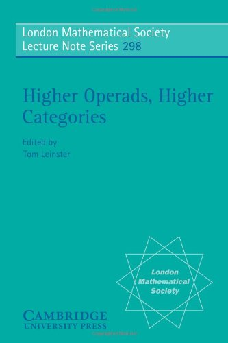 9780521532150: Higher Operads, Higher Categories (London Mathematical Society Lecture Note Series)