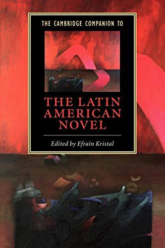 9780521532198: The Cambridge Companion to the Latin American Novel Paperback (Cambridge Companions to Literature)
