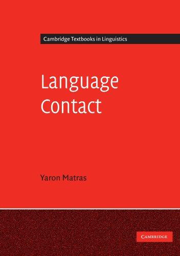 9780521532211: Language Contact (Cambridge Textbooks in Linguistics)
