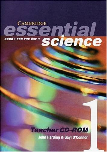 9780521532426: Cambridge Essential Science Book 1 Teacher CD-ROM: Book 1 for the CSF II