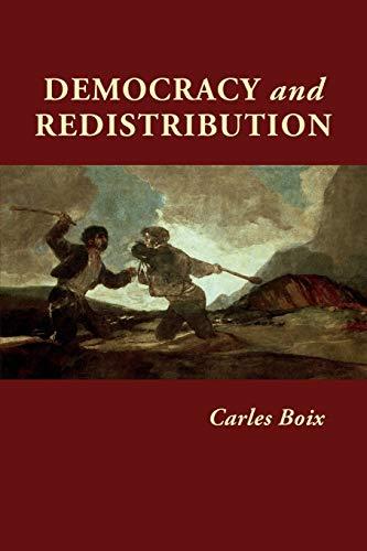9780521532679: Democracy and Redistribution (Cambridge Studies in Comparative Politics)