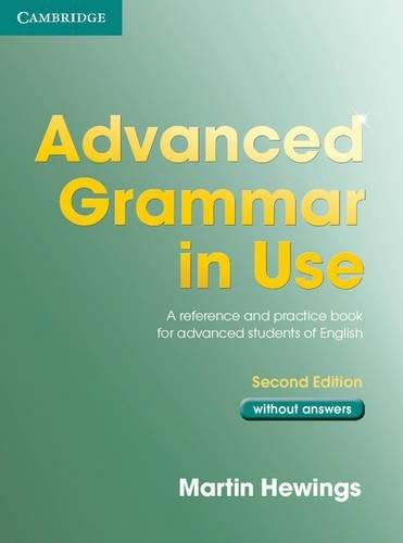 9780521532921: Advanced grammar in use. Without answers. Per le Scuole superiori