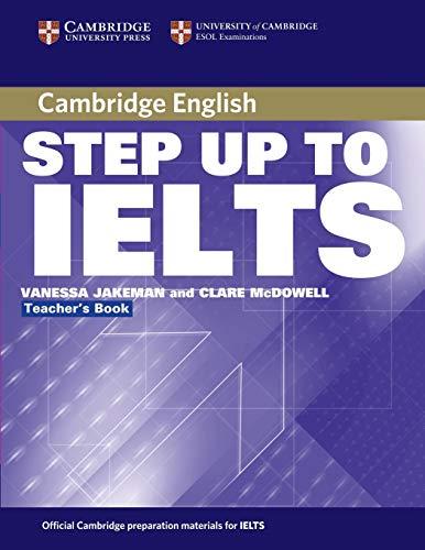 9780521533010: Step Up to IELTS Teacher's Book